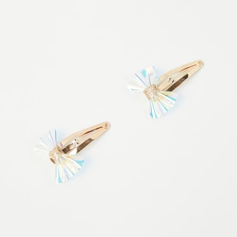 TONIQ KIDS Embellished Clips - Set of 2