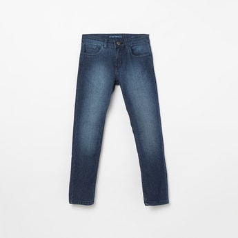 FAME FOREVER YOUNG Stonewashed Slim Fit Jeans