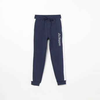 KAPPA Hydroway Solid Tape Detailed Joggers