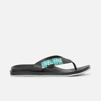 FORCA Printed Flip-Flops with Cushioned Footbed