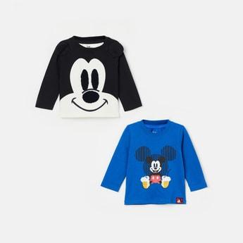 FS MINI KLUB Mickey Mouse Print T-shirt - Set of 2 Pcs.