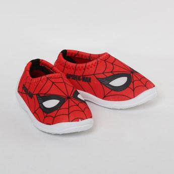 FAME FOREVER Spiderman Print Slip-On Shoes