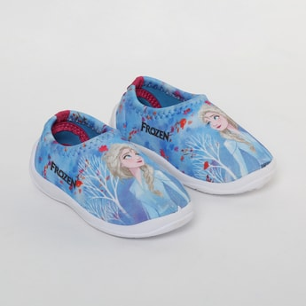 FAME FOREVER Frozen Print Slip-On Shoes