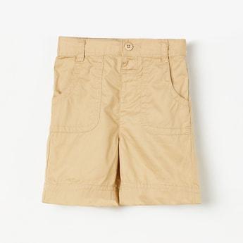 JUNIORS Boys Solid Elasticated Shorts