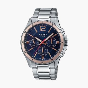 CASIO Enticer Men Multifunctional Watch - MTP-1374D-2A2VDF-A1745