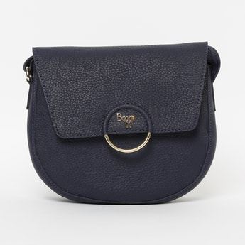BAGGIT Textured  Sling Bag with Flap