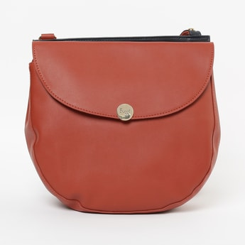BAGGIT Solid Sling Bag with Flap