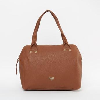 BAGGIT Textured Zip-Closure Bowling Bag