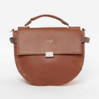 BAGGIT Textured Colourblock Sling Bag