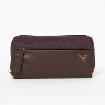 BAGGIT Colourblock Zip-Around Wallet