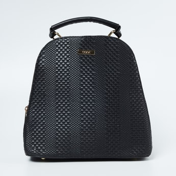 CODE Textured Backpack with Handles