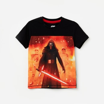 KIDSVILLE Graphic Print Short Sleeves T-shirt