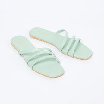 MONROW Strappy Flat Sandals