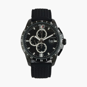 GIORDANO Men Chronograph Watch with Silicone Strap - GD-1095-02