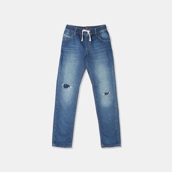 GAP Boys Distressed Regular Fit Jeans