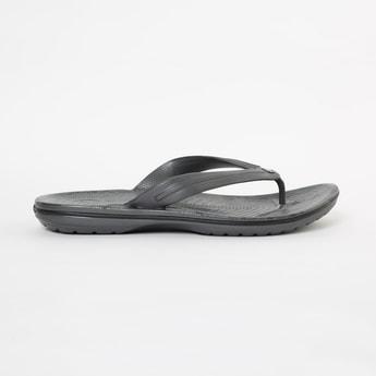 CROCS Solid V-Strap Slippers