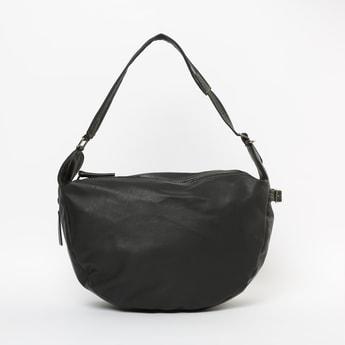 BAGGIT Solid Shoulder Bag with Detachable Strap