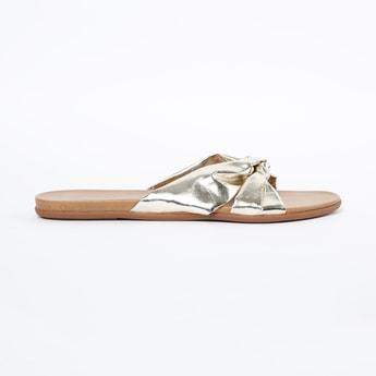 INC.5 Twisted Knot Slip-On Flats