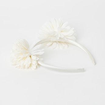 TONIQ KIDS Headband with Floral Appliques