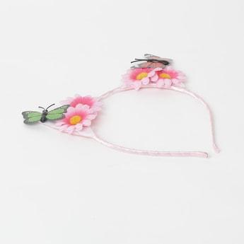 TONIQ KIDS Headband with Floral Applique