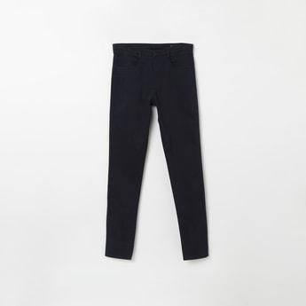 ALLEN SOLLY Solid Regular Fit Jeans