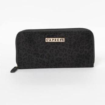 CAPRESE Animal Print Zip-Around Wallet