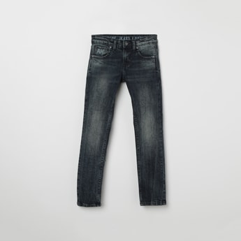 PEPE JEANS Stonewashed Slim Fit Jeans