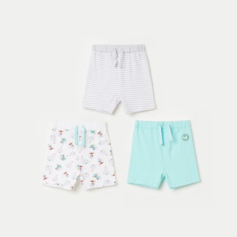 FS MINI KLUB Printed Casual Shorts- Pack of 3