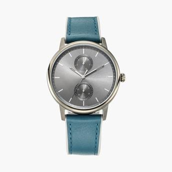 TITAN Athleisure Men Water-Resistant Multifunctional Watch - 90118QP02