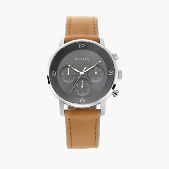 TITAN Athleisure Multifunctional Men's Wristwatch - 90119SP01