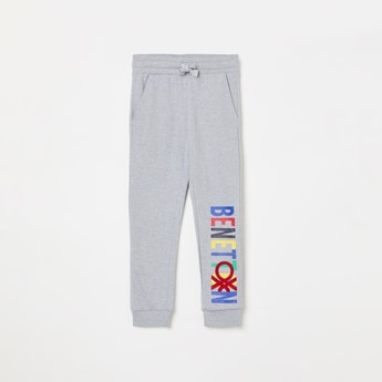 UNITED COLORS OF BENETTON Boys Printed Elasticated Track Pants