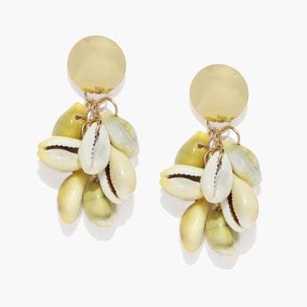 TONIQ Shell-Shaped Drop-Earrings