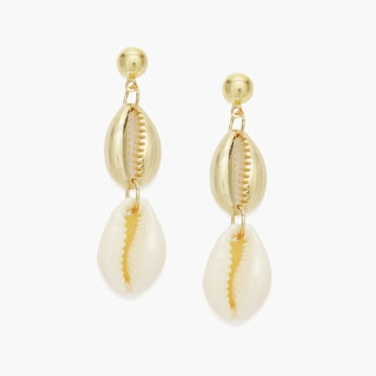 TONIQ Drop-Earrings with Shells