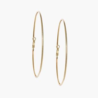 TONIQ Solid Hoop Earrings