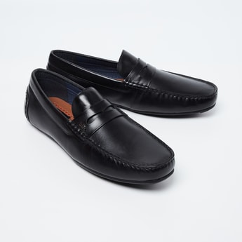 LEE COOPER Solid Loafers