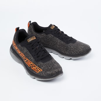 SKECHERS Go Run Focus Lace-Up Running Shoes