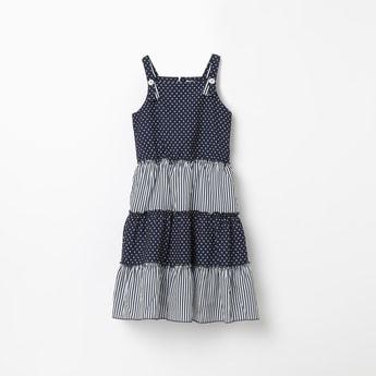PEPPERMINT Printed Sleeveless Dress