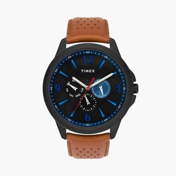TIMEX Men Analog Watch with Leather Strap - TWEG16518