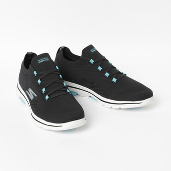 SKECHERS Go Walk Mesh Lace-Up Sports Shoes