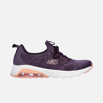 SKECHERS Textured Lace-Up Training Shoes
