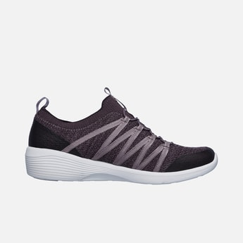 SKECHERS Textured Lace-Up Sport Shoes