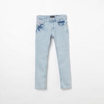INDIAN TERRAIN Solid Regular Fit Jeans
