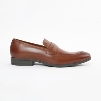 LOUIS PHILIPPE Genuine Leather Penny Loafers