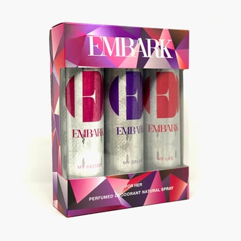 EMBARK Women My Dream, My Life And My Passion Deo Set