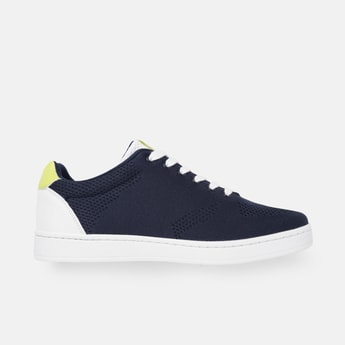 UNITED COLORS OF BENETTON Men Textured Lace-Up Shoes