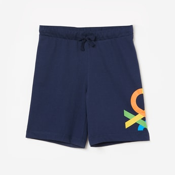 UNITED COLORS OF BENETTON Boys Printed Elasticated Shorts