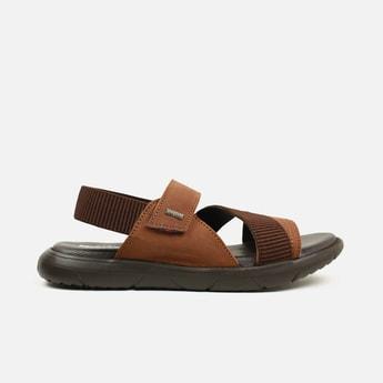 BUCKAROO Men Genuine Leather Floater Sandals