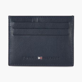 TOMMY HILFIGER Solid Leather Wallet