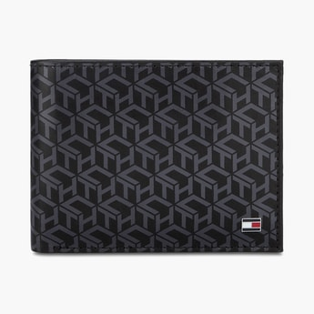 TOMMY HILFIGER Printed Leather Wallet