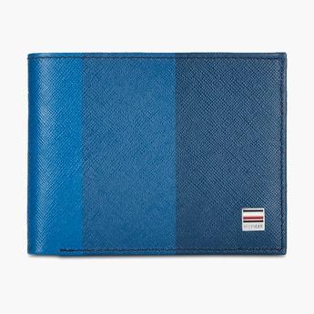 TOMMY HILFIGER Colourblocked Bi-Fold Wallet